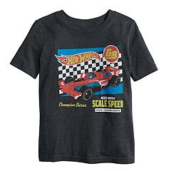Boys 4-12 Jumping Beans® Hot Wheels Graphic Tee