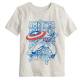 Boys 4-12 Jumping Beans® Marvel Captain America Graphic Tee