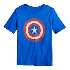 Boys 4-12 Jumping Beans® Marvel Captain America Shield Tee