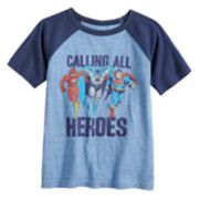 Boys 4-12 Jumping Beans® Justice League Raglan Graphic Tee