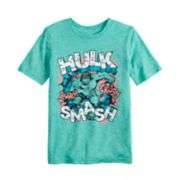 Boys 4-12 Jumping Beans® Marvel The Hulk Graphic Tee