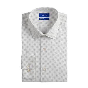 Men's Apt. 9® Tall Slim-Fit Wrinkle Resistant Stretch Dress Shirt