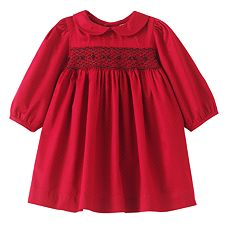 Carter's Polka-Dot Smocked Dress