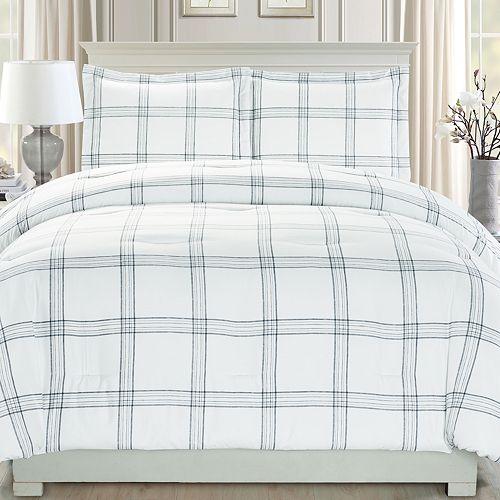 Riverbrook Home Plaid Comforter Set
