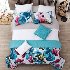 Jasper Layered Comforter & Coverlet Set