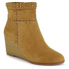 Dolce by Mojo Moxy Saturday Women's Wedge Ankle Boots