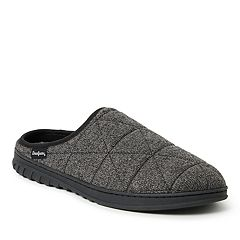 Men's Dearfoams FreshFeel Quilted Clog Slippers