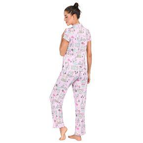 Women's Jammies by HipStyle Sleep Shirt & Pajama Pants Set