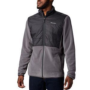 Men's Columbia Basin Butte Omni-Heat Colorblock Fleece Full-Zip Jacket