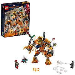 LEGO Super Heroes Molten Man Battle 76128