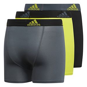 Boys 4-20 adidas Sport Performance climalite 3-Pack Boxer Briefs