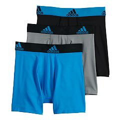 d6238d520abc Boys 4-20 adidas Sport Performance climalite 3-Pack Boxer Briefs. Blue  Multi Multi Gray Multi Red Black ...