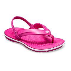 Crocs Crocband Strap Toddlers' & Kids' Flip Flop Sandals
