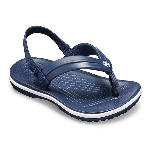 Crocs Crocband Strap Toddlers' & Kids' Flip Flop Sandals
