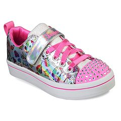 Skechers Twinkle Toes Twi-Lites Fancy Faces Girls' Light Up Shoes