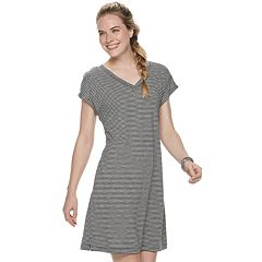 Petite SONOMA Goods for Life™ V-Neck Dolman T-Shirt Dress