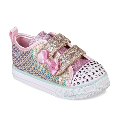 Skechers Twinkle Toes Twinkle Lite Mini Mermaid Toddler Girls' Light Up Shoes