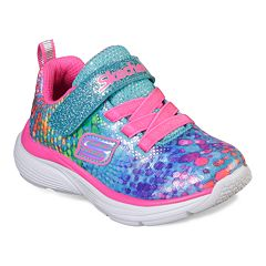 3db752858bb5c Skechers Wavy Lites Toddler Girls' Sneakers