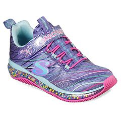 5af899e60002 Skechers Jumpin' Dots Confetti Airbag Girls' Sneakers. Neon Pink Multi Blue  Multi