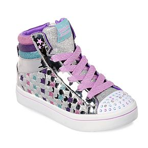 Skechers Twinkle Toes Twinkle Lite Sparkle Status Girls' Light Up Shoes