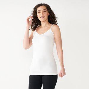 Women's Apt. 9® Essential Reversible Neckline Seamless Camisole