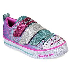Skechers Twinkle Toes Twinkle Lite Smile Girls' Light Up Shoes