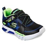 Skechers Flex-Glow Parrox Boys' Light Up Shoes