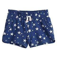 Toddler Girl Jumping Beans® Patriotic French Terry Shorts