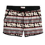 Girls 7-16 SO® Printed Soft Shorts
