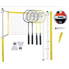 Franklin Sports Family Badminton & Volleyball Set