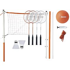 Franklin Sports Starter Badminton & Volleyball Set