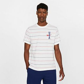 Men's Nike USA Striped Training Tee
