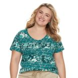 Plus Size SONOMA Goods for Life? Essential V-Neck Tee