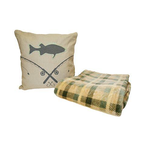 Mantolok Throw & Pillow Gift Set