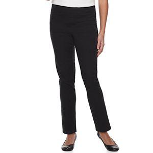 fb91ec8ce6c2fb Plus Size Croft & Barrow® Pull-On Tapered-Leg Jeans