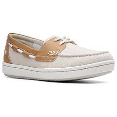 1b0ec4072baa Clarks Step Glow Lite Womens  Boat Shoes