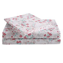 Peach & Oak Printed Sheet Set