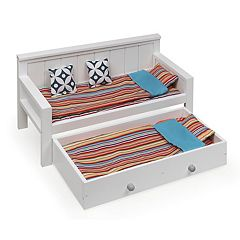 Badger Basket 10-Piece Sofa and Trundle Bed Play Set
