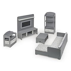 Badger Basket 10-Piece Media Room Furniture Play Set