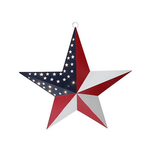 Americana LED Star wall decor