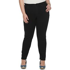 Plus Size EVRI All About Comfort Midrise Skinny More Curvy Jeans