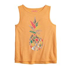 Girls 7-16 & Plus Size Mudd® Graphic Tank