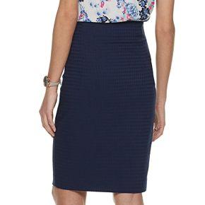 Women's ELLE Pull-On Pencil Skirt