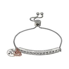 Brilliance 'Great Grandmother' Bar Bracelet with Swarovski Crystals