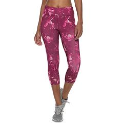 fe9669ce8e5b Women s Tek Gear® Performance Mesh Insert Midrise Capri Leggings