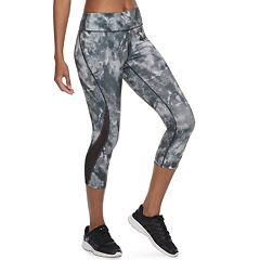 f838b1c34 Women s Tek Gear® Performance Mesh Insert Midrise Capri Leggings