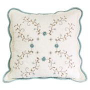 Croft & Barrow Amelia Embroidered Throw Pillow