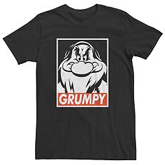Men's Disney Snow White Grumpy Tee