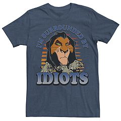 Men's Disney's Lion King 'I'm Surrounded By Idiots' Graphic Tee