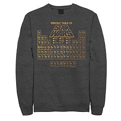 Men's Star Wars Periodic Table of Elements Heather Fleece Sweatshirt